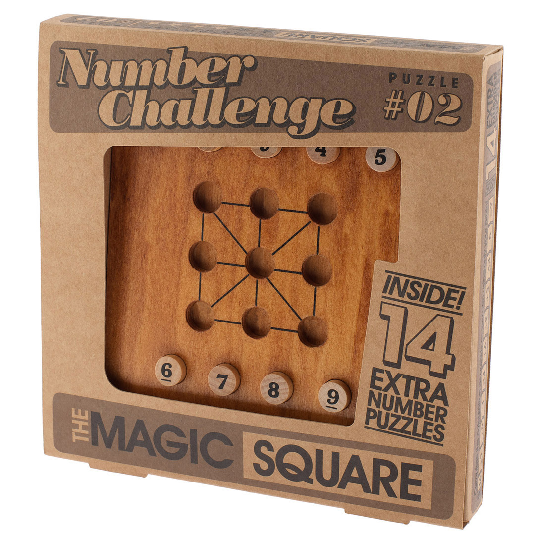 1171 - Number Challenge_The Magic Square