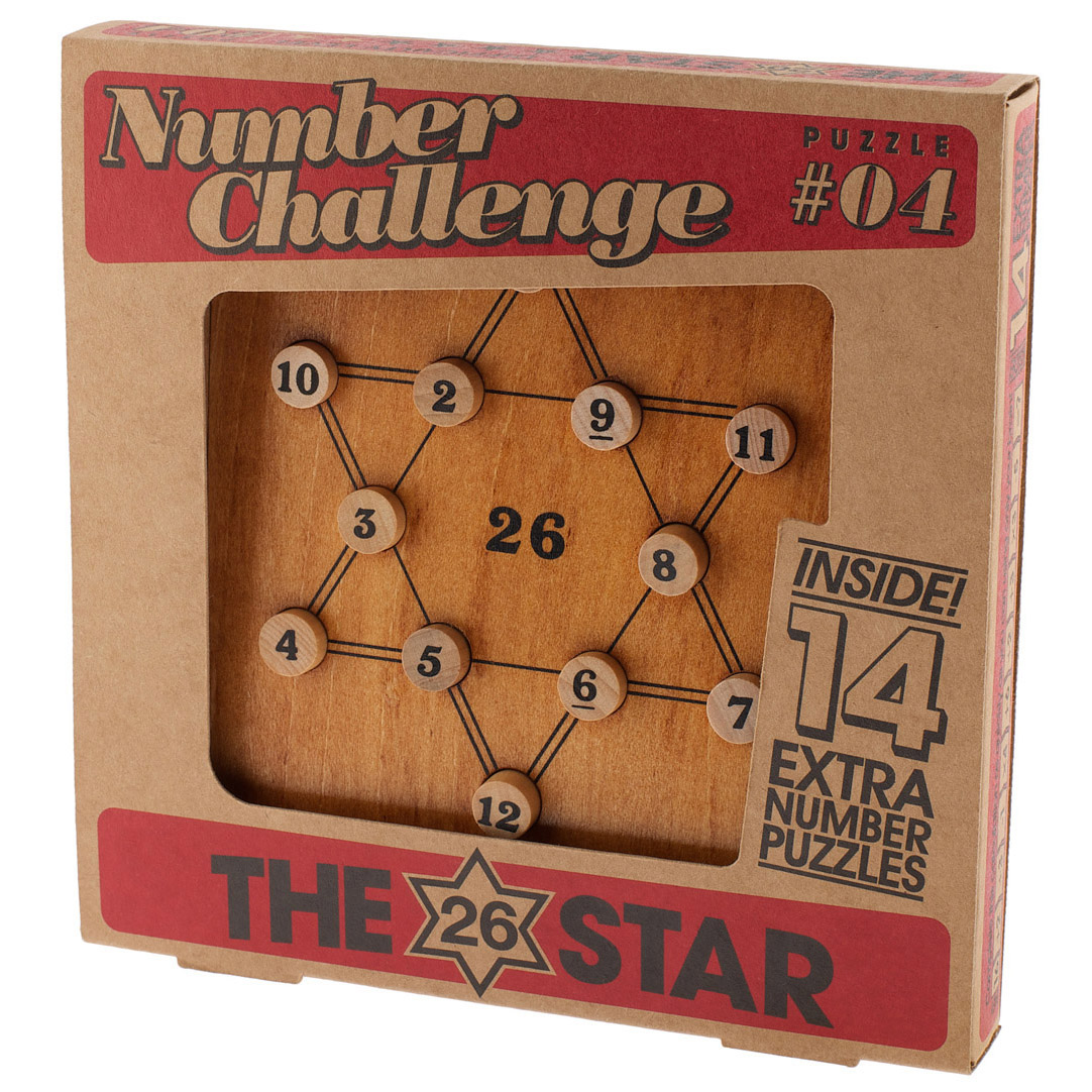 1173 - Number Challenge_The 26 Star