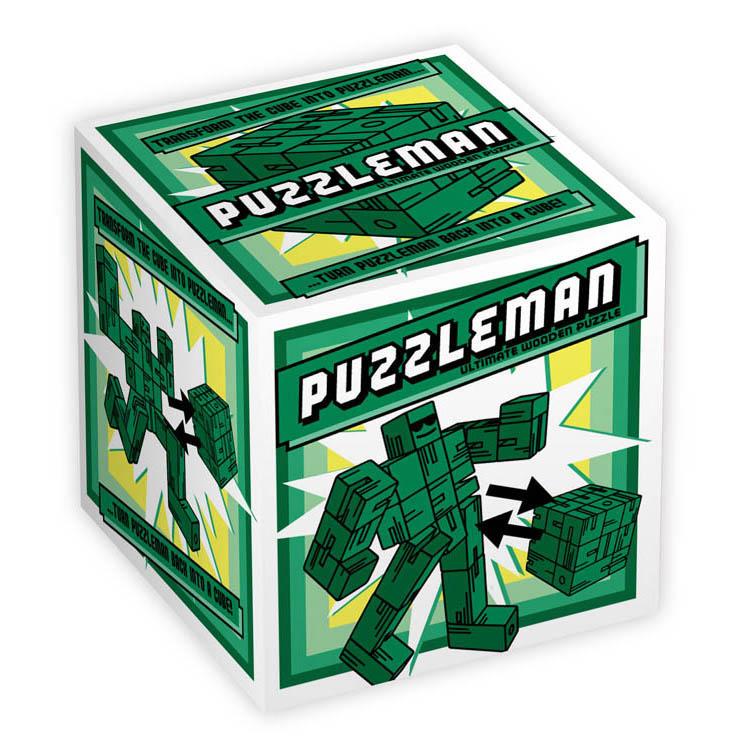 1178 - Puzzleman - Green - Box