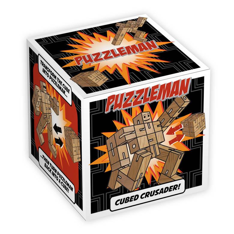1201 - Puzzleman - Natural - Box