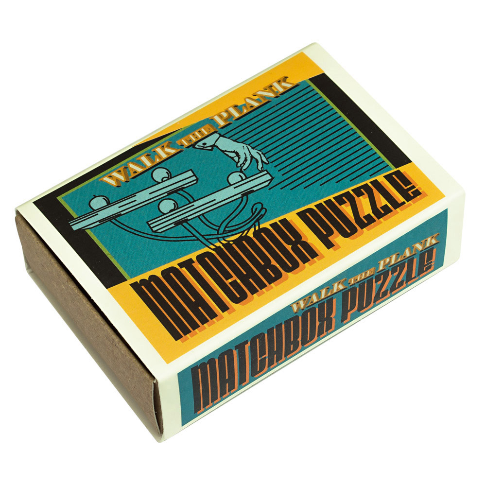 1233 - Matchbox Puzzles - Walk the Plank