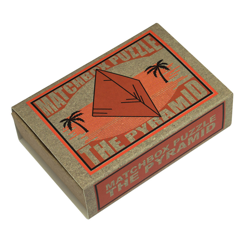 1234 - Matchbox Puzzles - The Pyramid