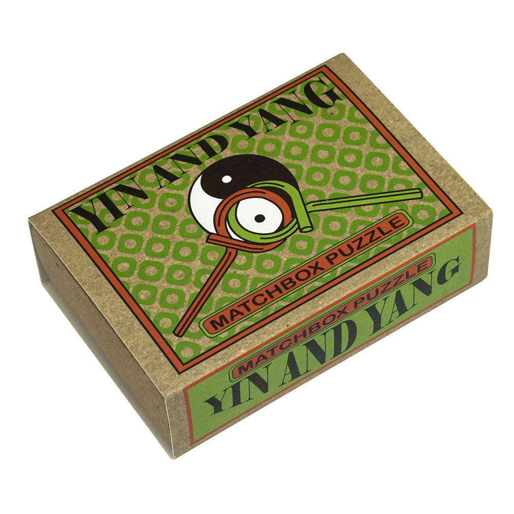 1236 - Matchbox Puzzles - Yin & Yang