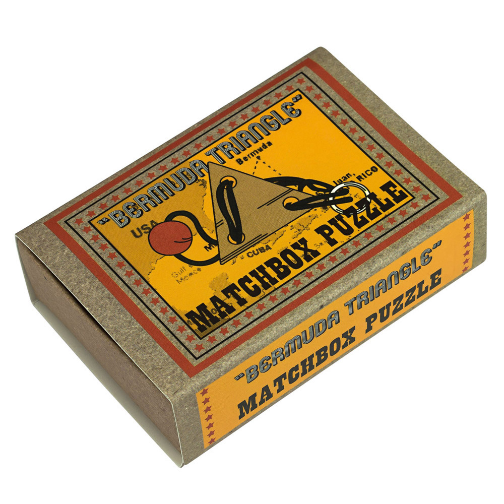 1237 - Matchbox Puzzles - Bermuda Triangle