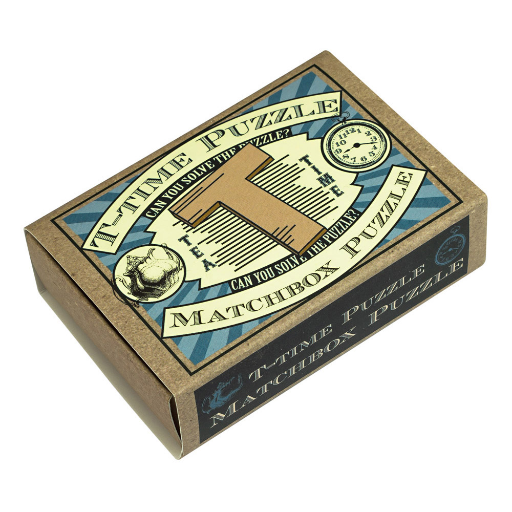 1239 - Matchbox Puzzles - T-Time