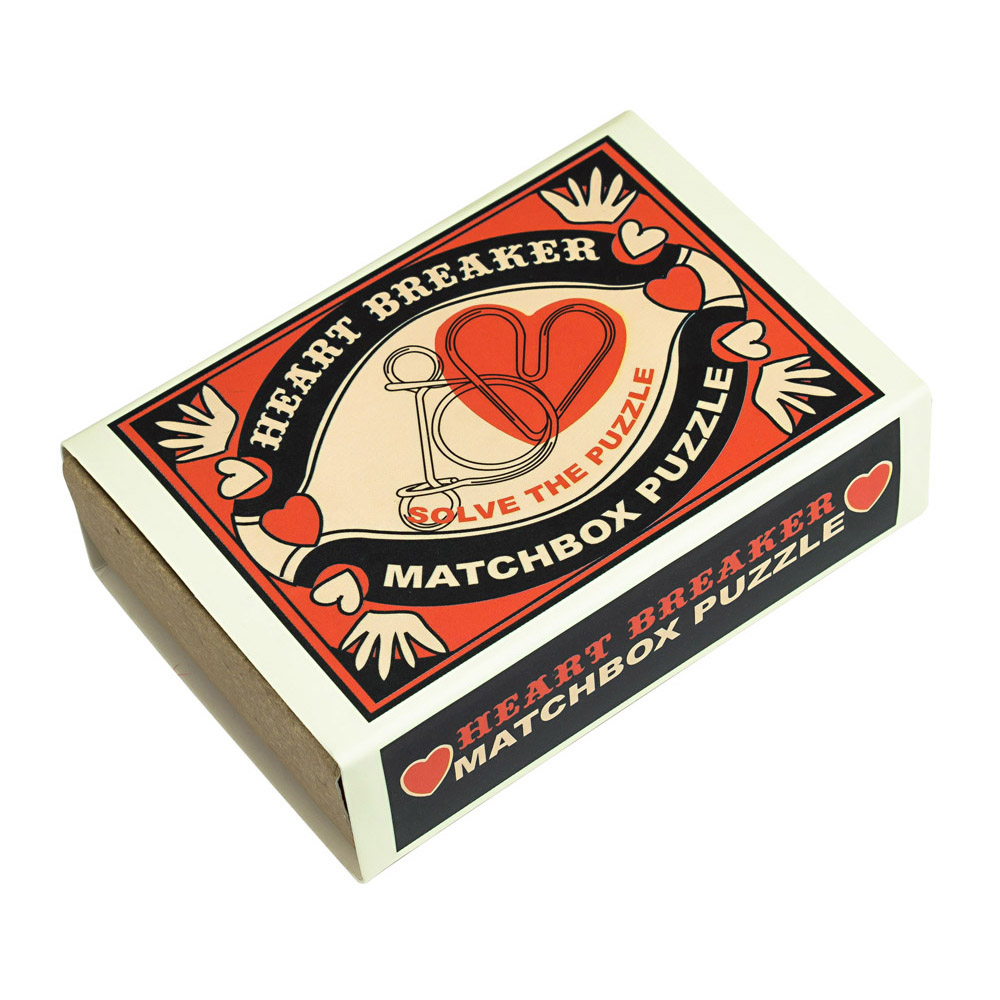 1241 - Matchbox Puzzles - Heart Breaker