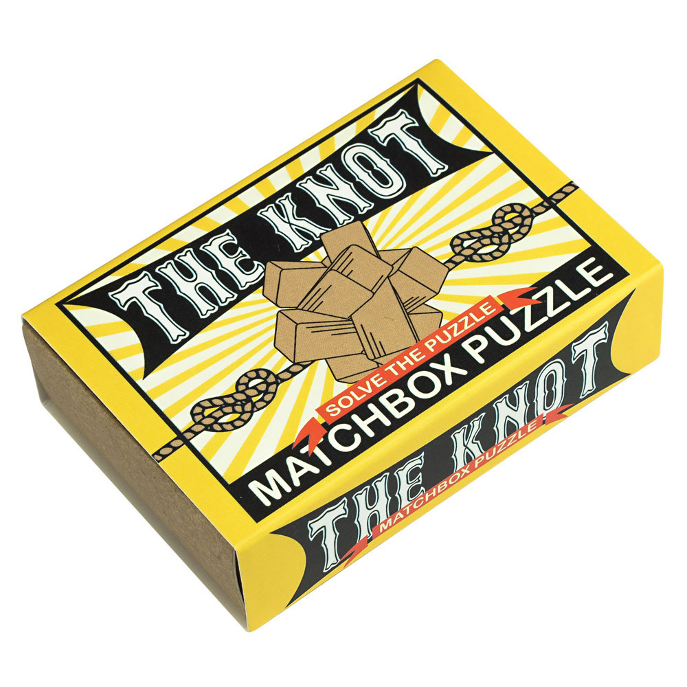 1242 - Matchbox Puzzles - The Knot