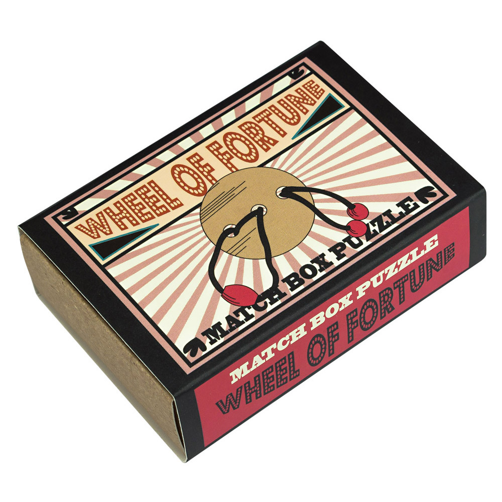 1243 - Matchbox Puzzles - Wheel of Fortune
