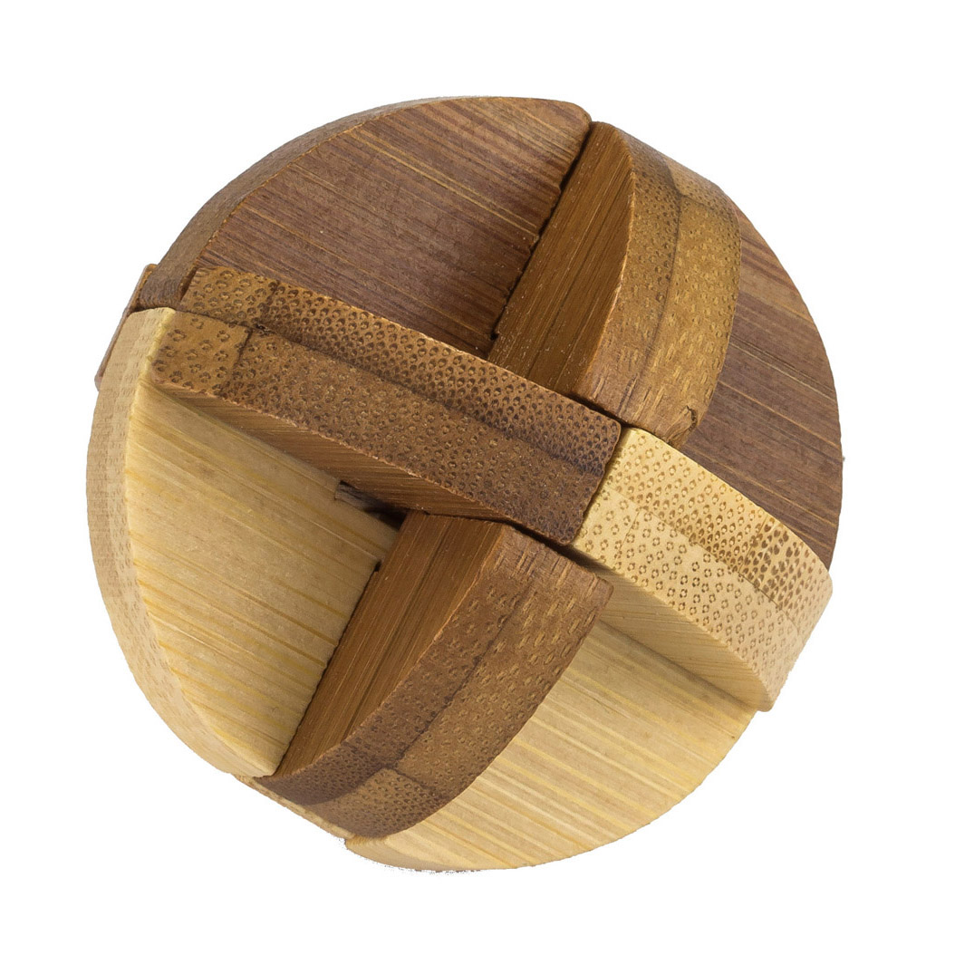 Wooden Sphere Puzzle Solution 6 Piece All About Wooden