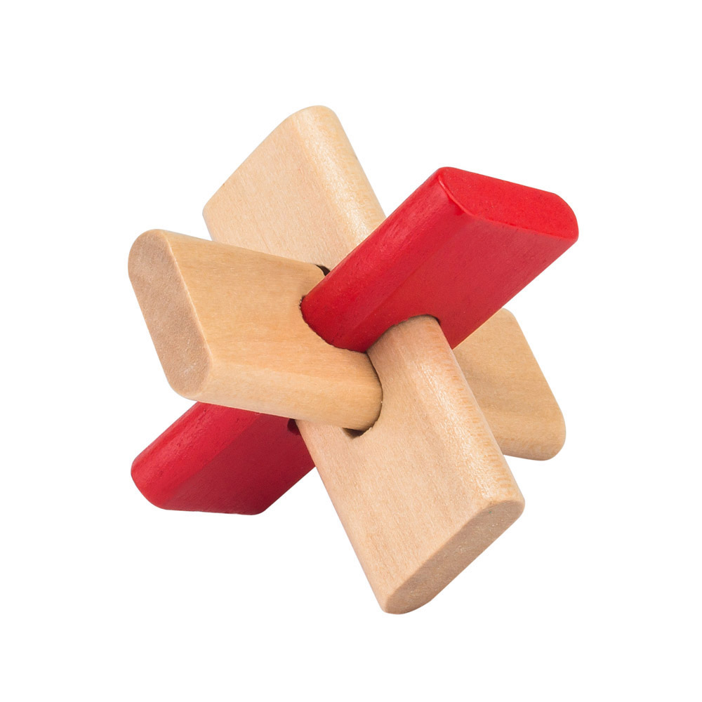 1426 - Puzzle Club - 5 x Wooden Puzzles - Open4