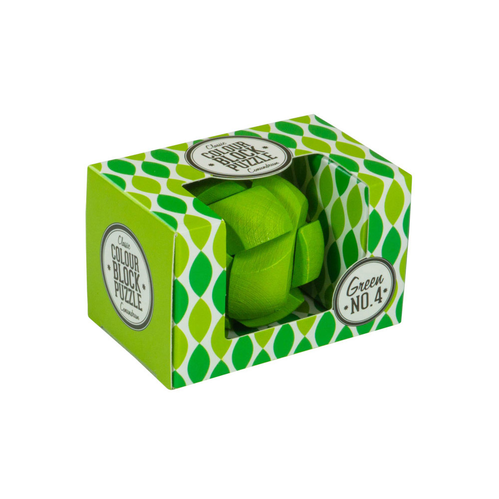 Colour Block Puzzles - Box - green
