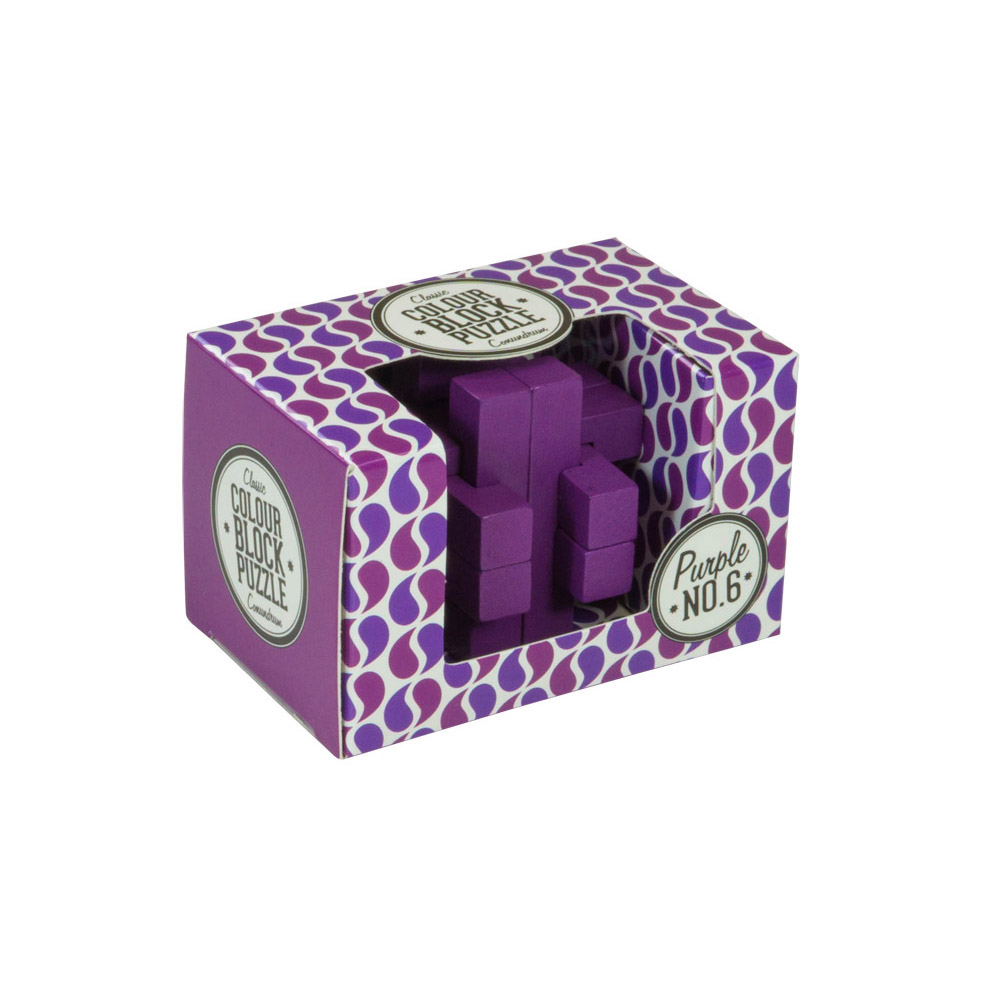 Colour Block Puzzles - Box - purple