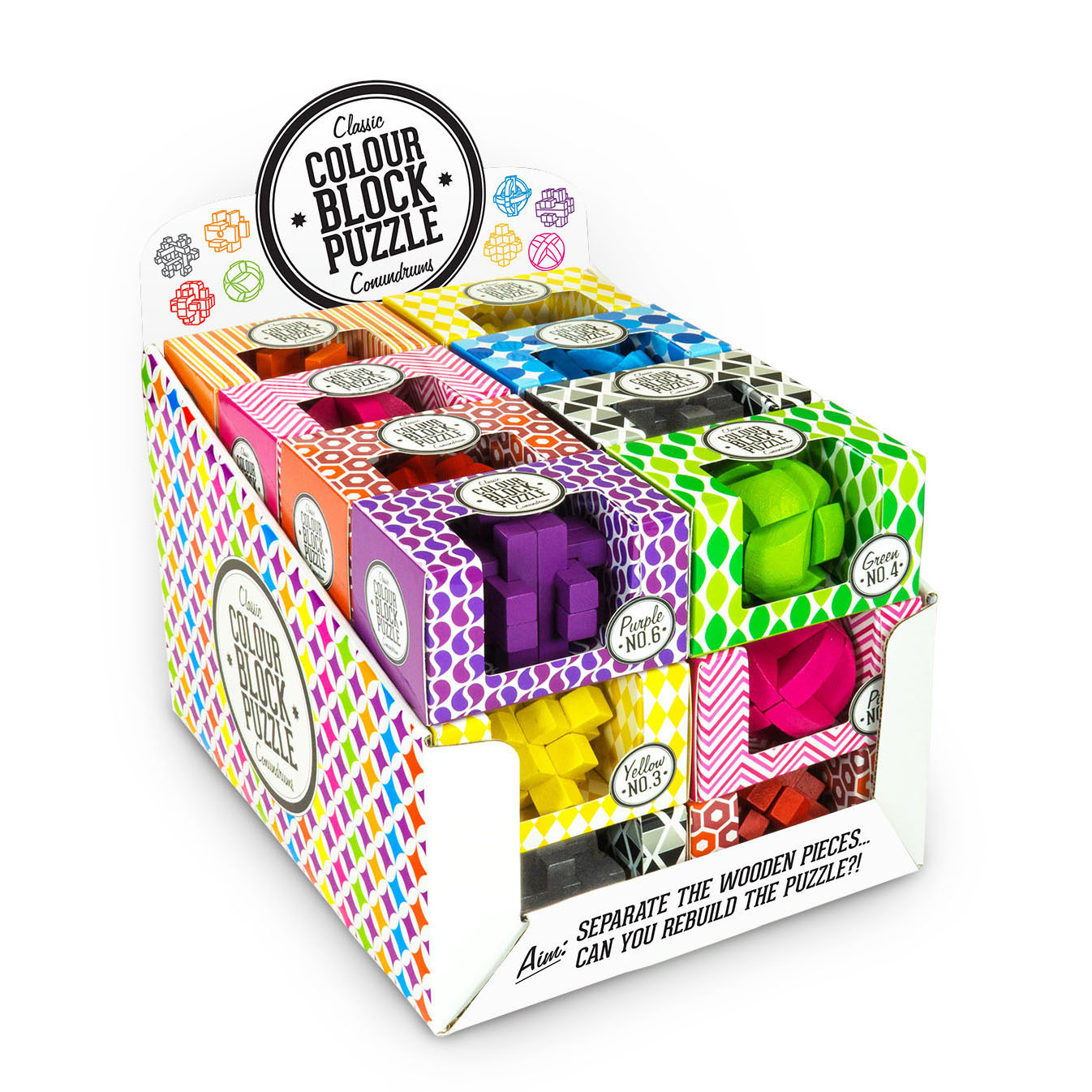 Colour Block Puzzles - Display Unit