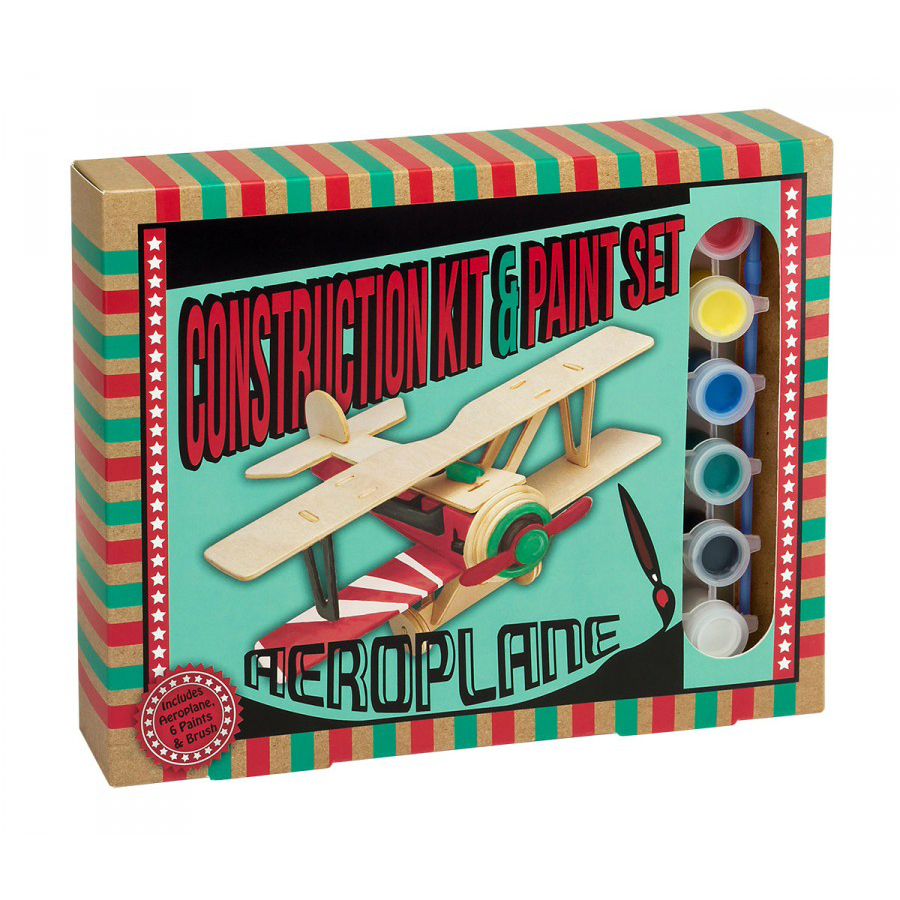 Construction Kit and Paint Sets - Aeroplane