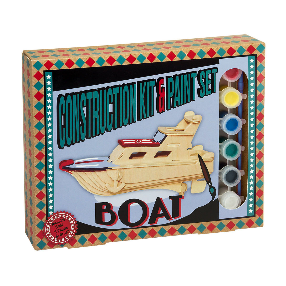Construction Kit and Paint Sets - Boat