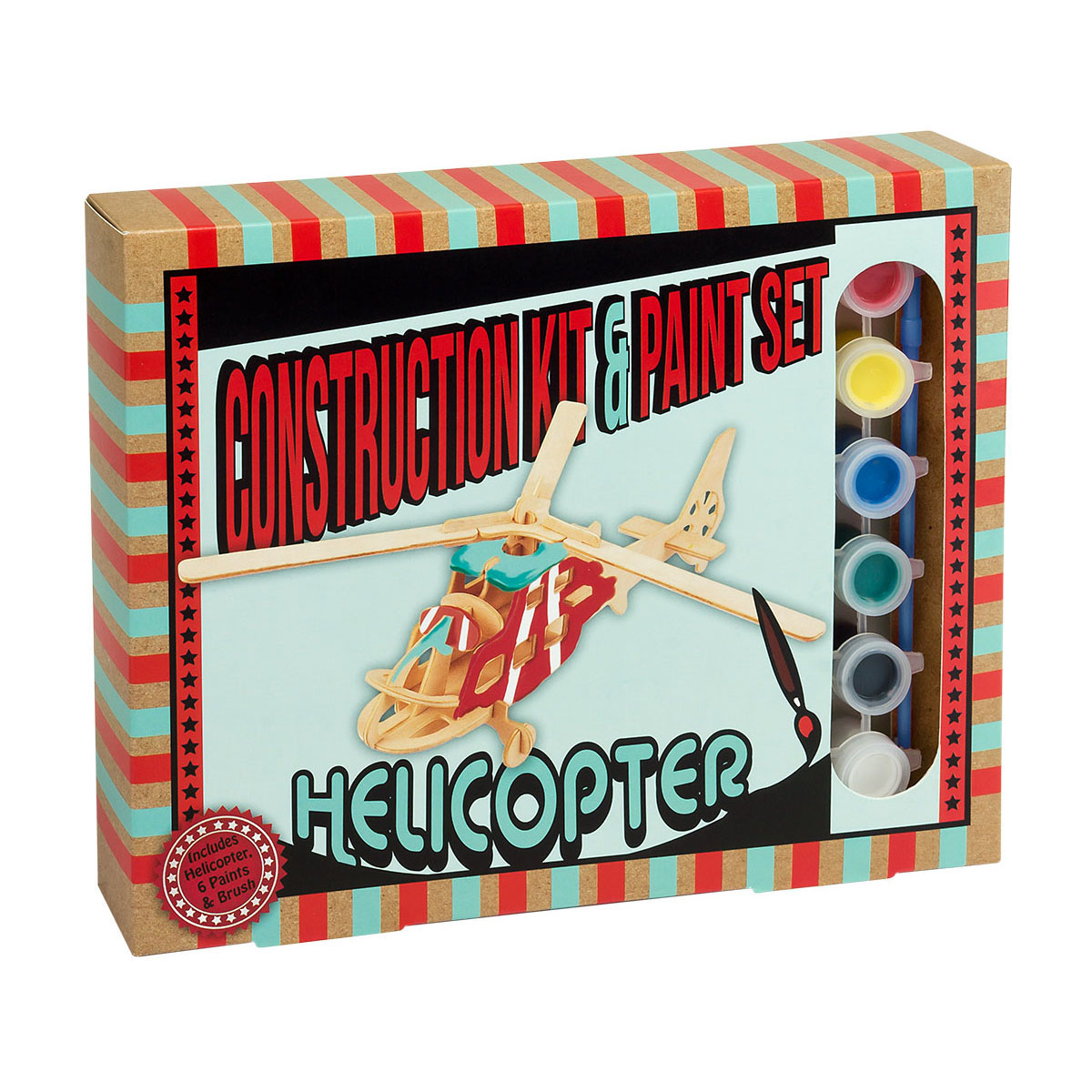 Construction Kit and Paint Sets - Helicopter