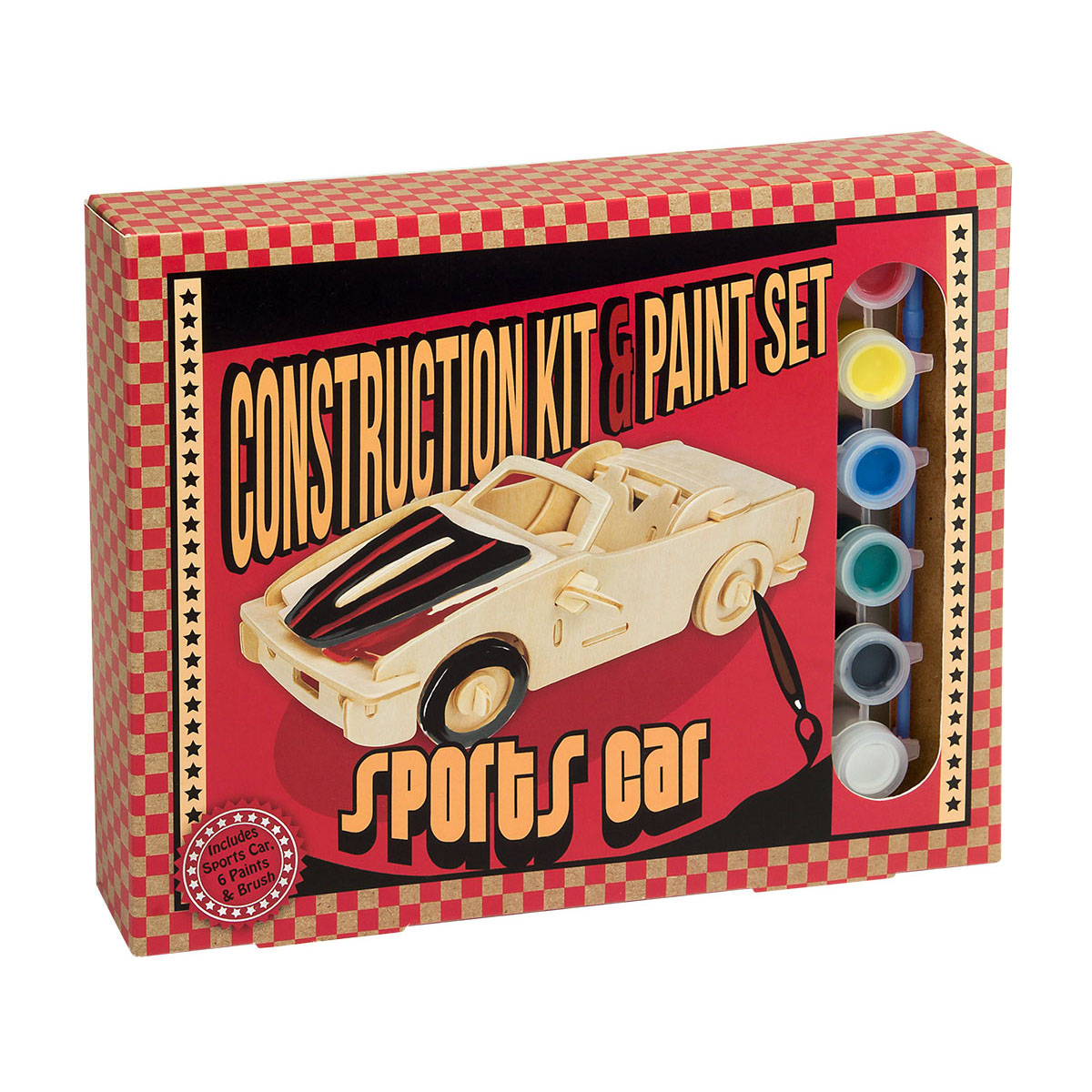Construction Kit and Paint Sets - Sports Car