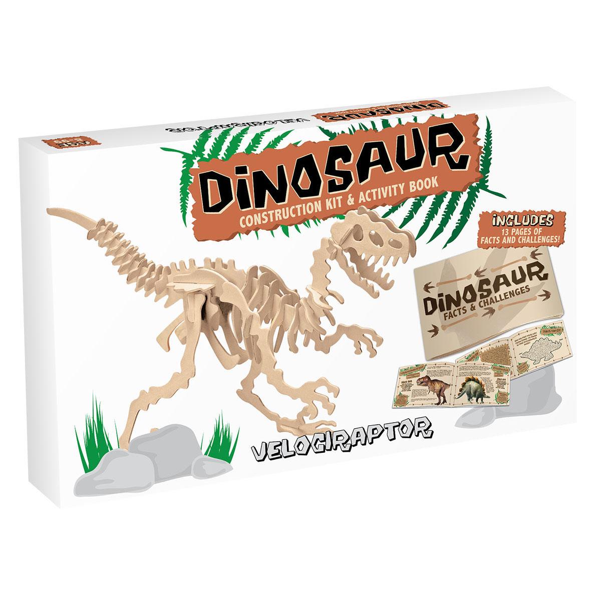 Dinosaur Construction Kit - Velociraptor