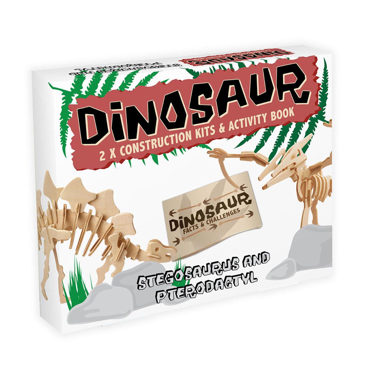 Dinosaur - Stegosaurus and Pterodactyl
