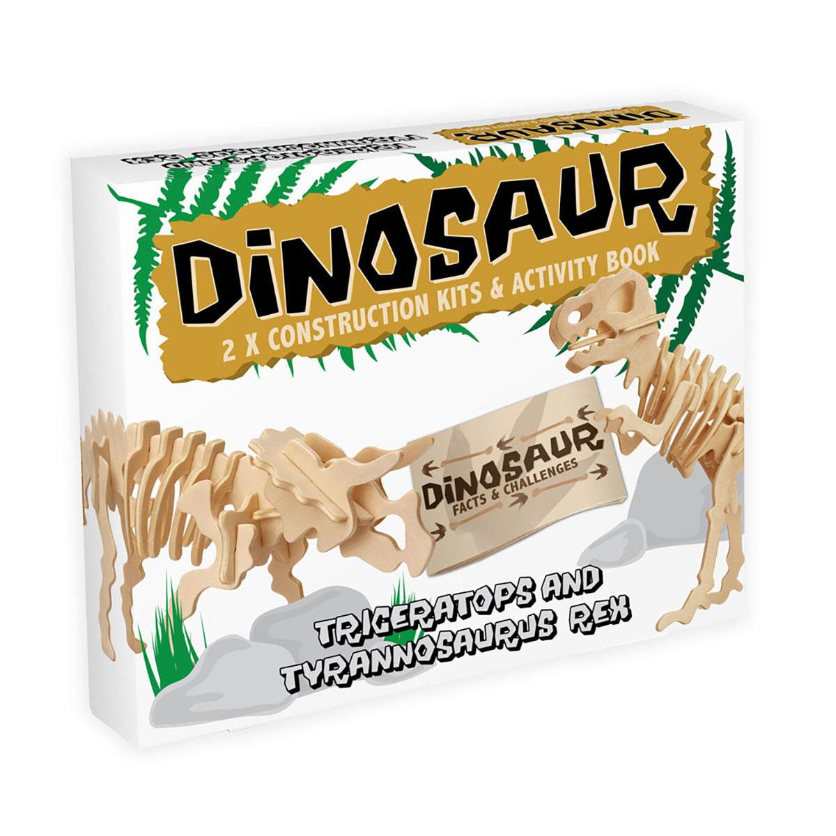 Dinosaur - Triceratops and Tyrannosaurus