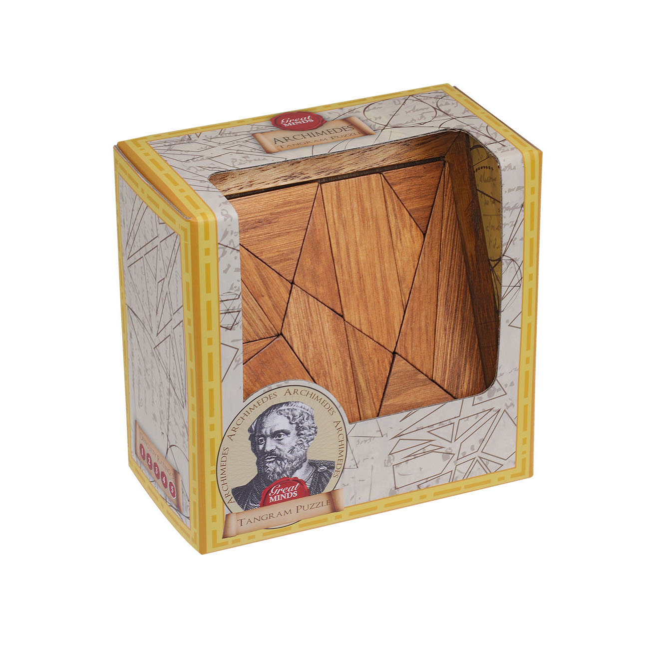 Great Minds - Archimedes's Tangram Box