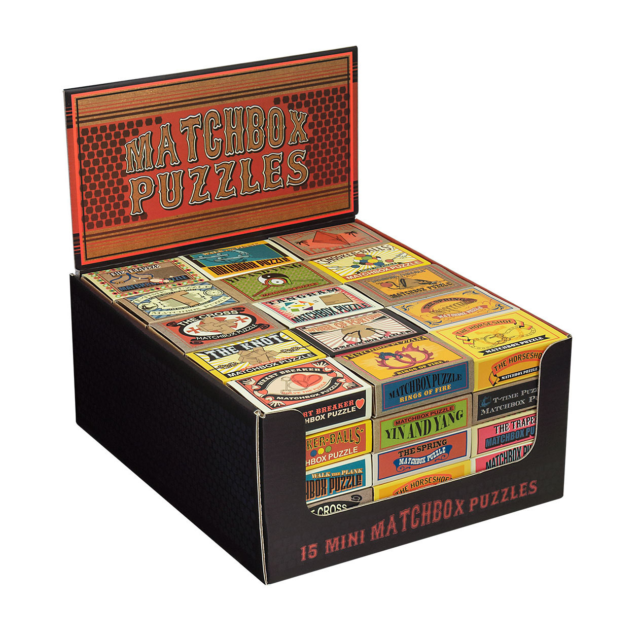 Matchbox Puzzles Display Unit