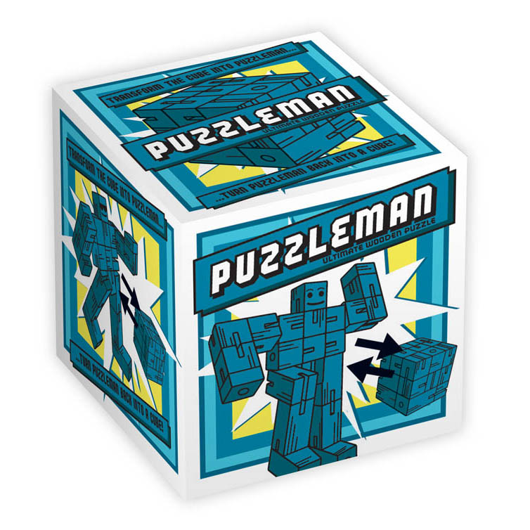 1176 - Puzzleman - Blue - Box