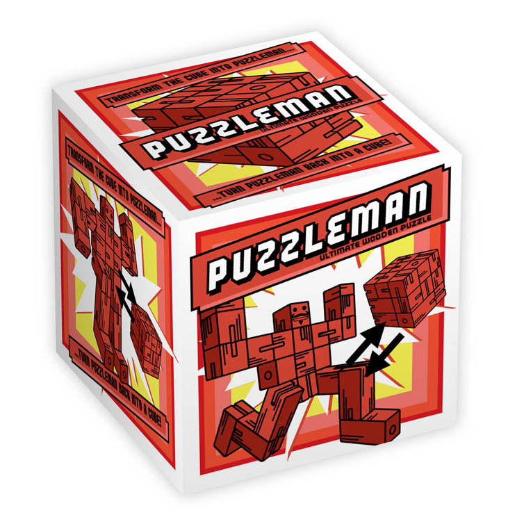 1177 - Puzzleman - Red - Box