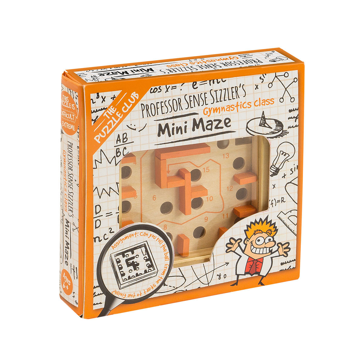 The Puzzle Club - Maze - Box