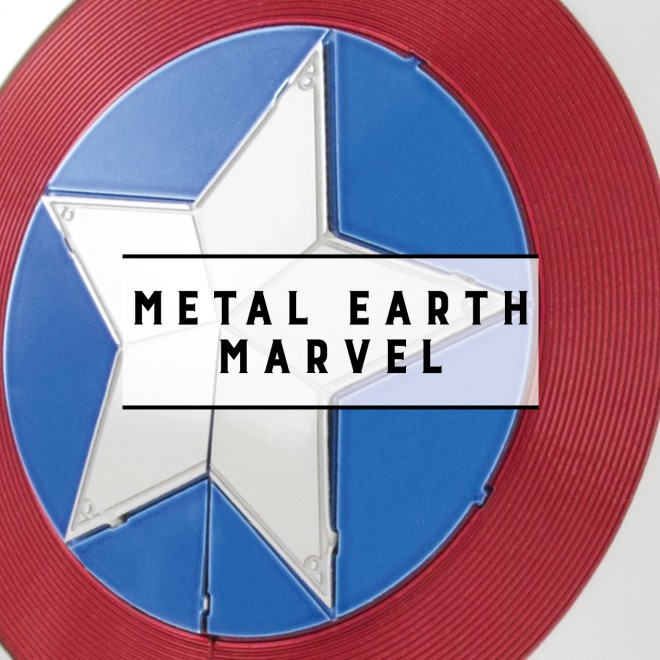 Metal Earth Marvel