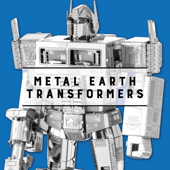 Metal Earth Transformers