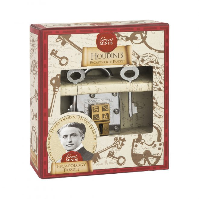 Great Minds - Houdini's Escapology Puzzle - Box
