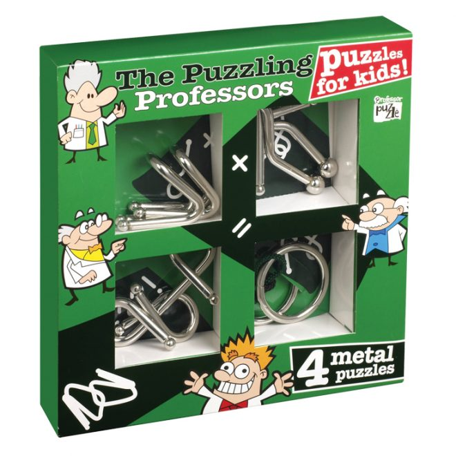 Professor Puzzle - Kids Metal Puzzles - Low Res