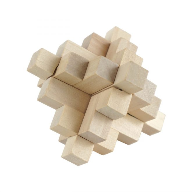 Set of 4 Wood - 1