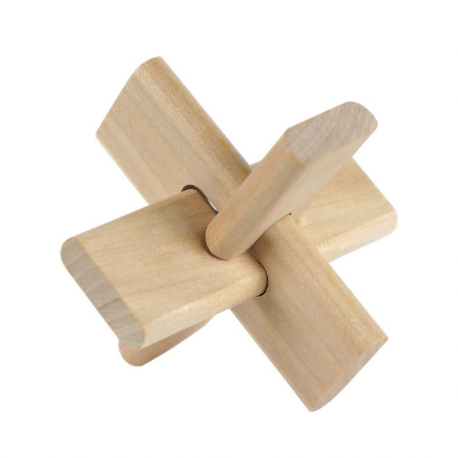 Set of 4 Wood - 3