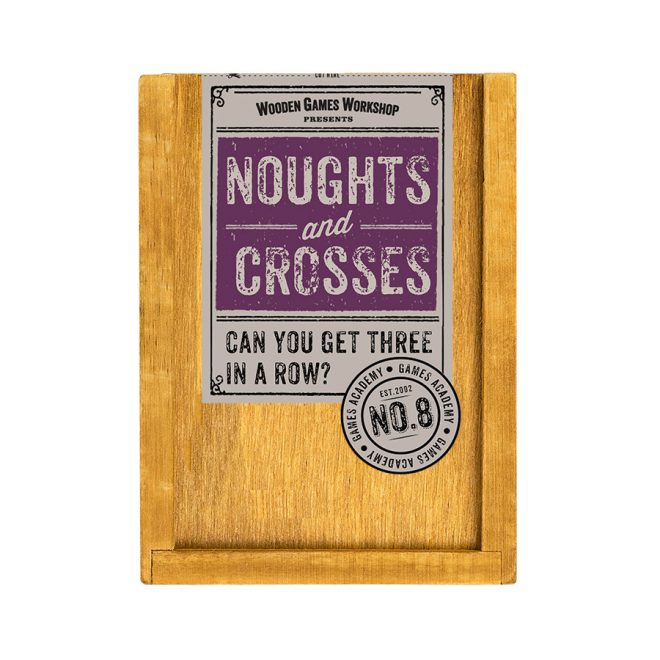 Noughts and crosses label 2017