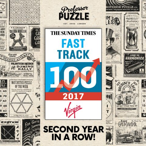 PROFESSOR PUZZLE 'DO THE DOUBLE' IN THE SUNDAY TIMES VIRGIN FAST TRACK 100