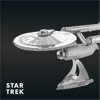 Metal Earth Star Trek