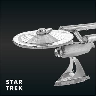 Metal Earth Star Trek
