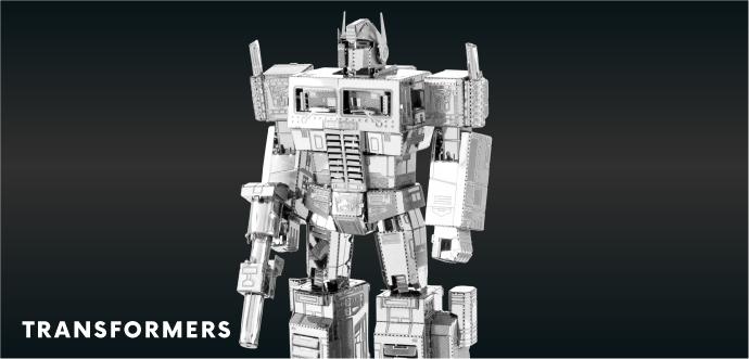 Metal Earth Transformers
