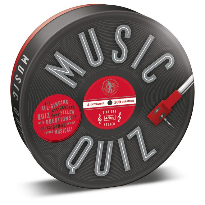 Music quiz packaging