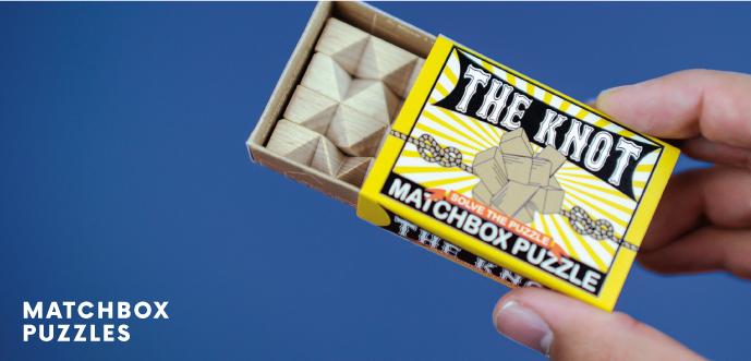Matchbox Puzzles | Professor Puzzle
