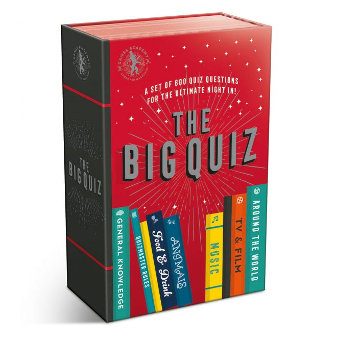 The big quiz packaging