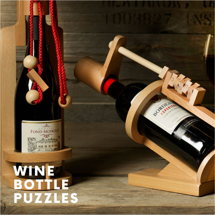 Wine Bottle Puzzles