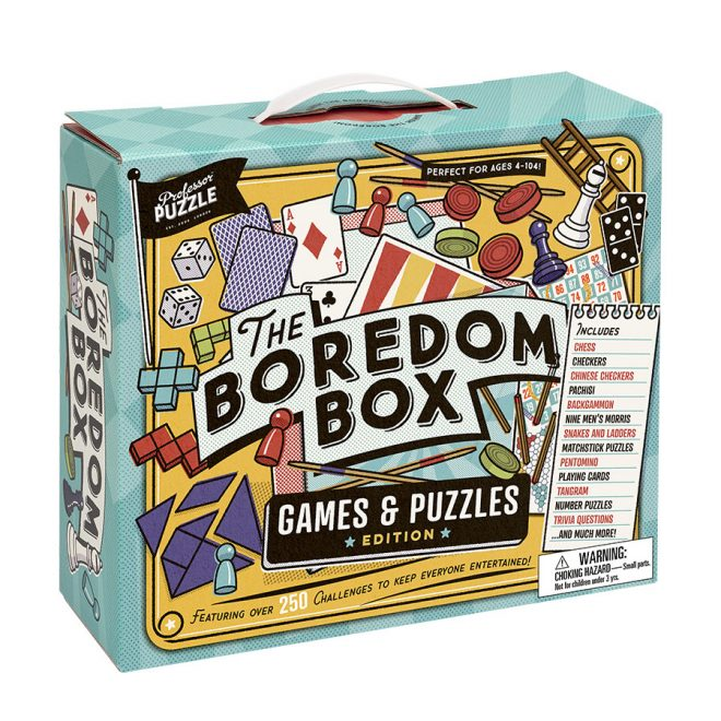 The Boredom Box | Professor Puzzle
