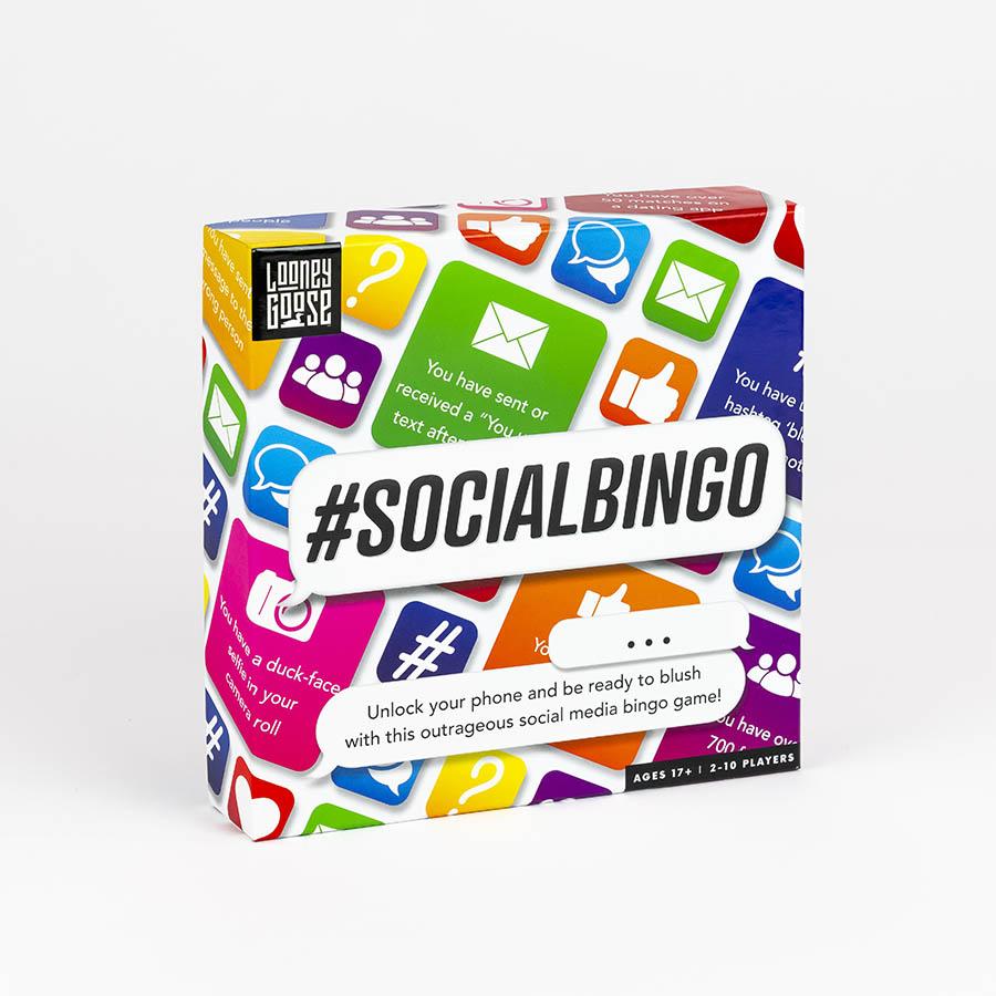Social Bingo Party Game Professor Puzzle