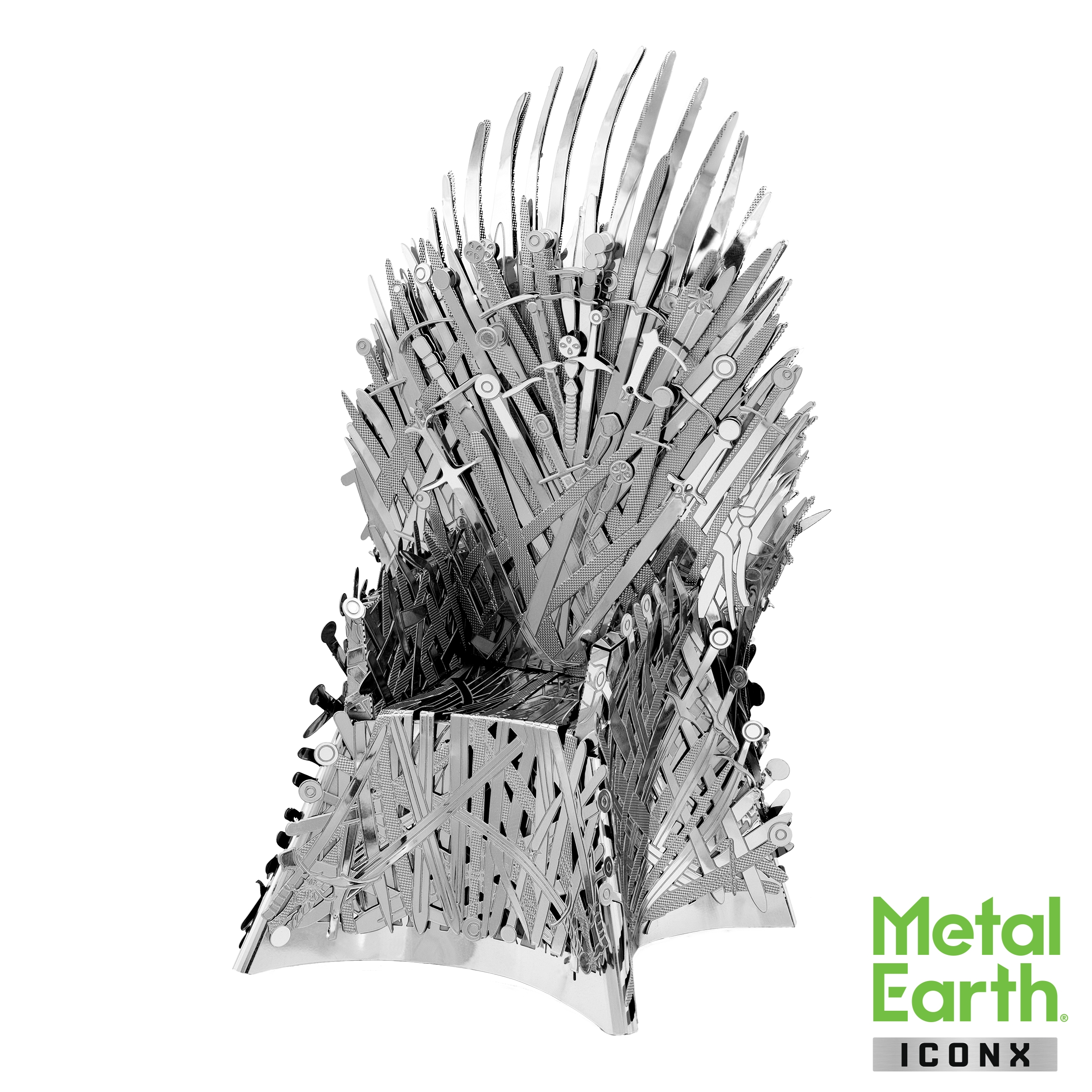 The Iron Throne Model - Game of Thrones models by Metal Earth