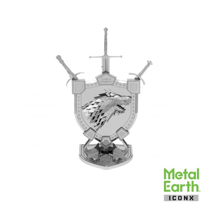 House of Stark Sigil - Game of Thrones Model by Metal Earth
