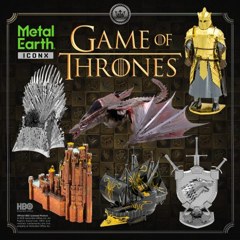 Introducing … Game of Thrones by Metal Earth