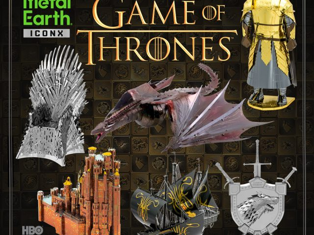 Introducing … Game of Thrones Model Kits by Metal Earth